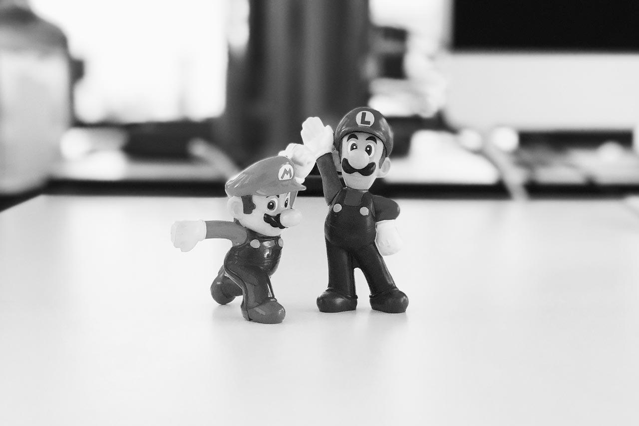 Digitalagentur dietz Mario Figuren